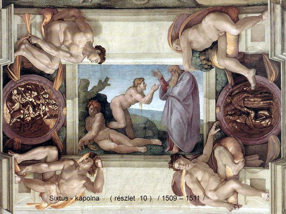 Sixtus - kápolna ( részlet 10 ) / 1509 – 1511 /