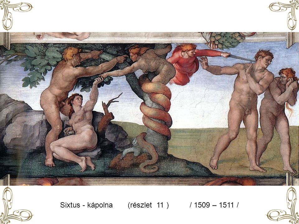 Sixtus - kápolna (részlet 11 ) / 1509 – 1511 /