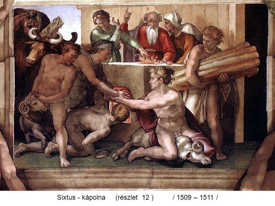 Sixtus - kápolna (részlet 12 ) / 1509 – 1511 /
