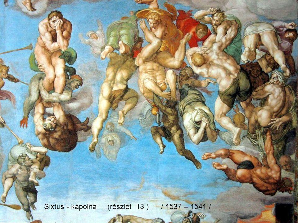 Sixtus - kápolna (részlet 13 ) / 1537 – 1541 /