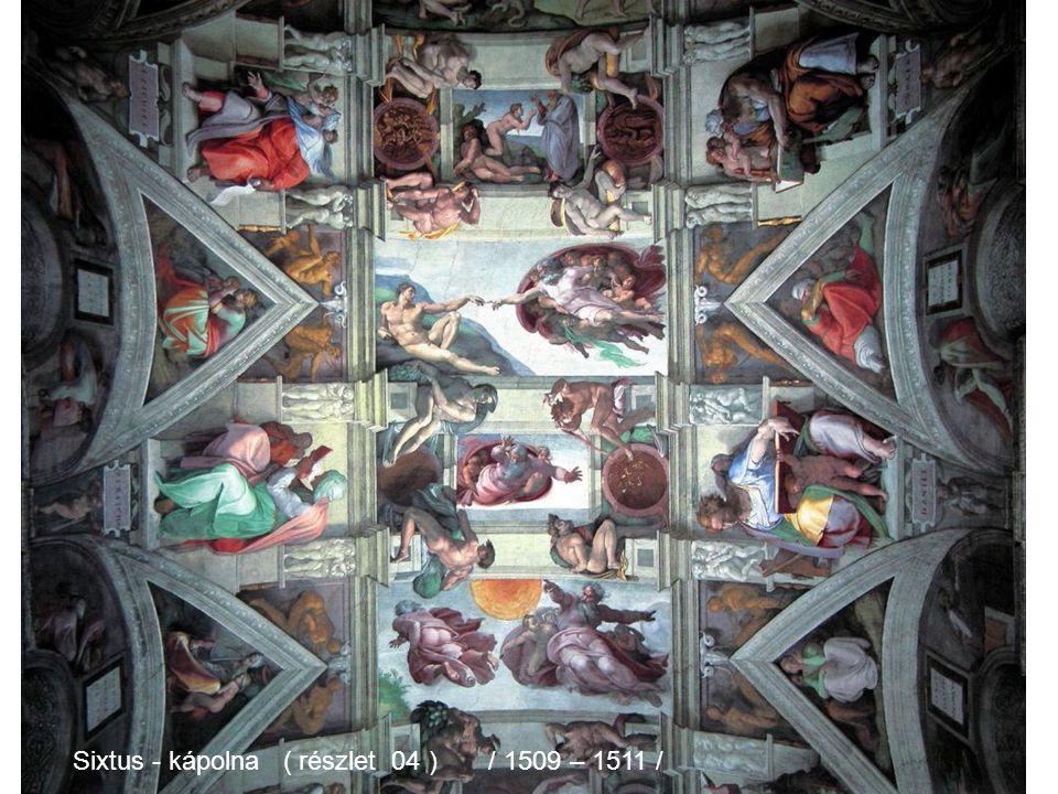 Sixtus - kápolna ( részlet 04 ) / 1509 – 1511 /