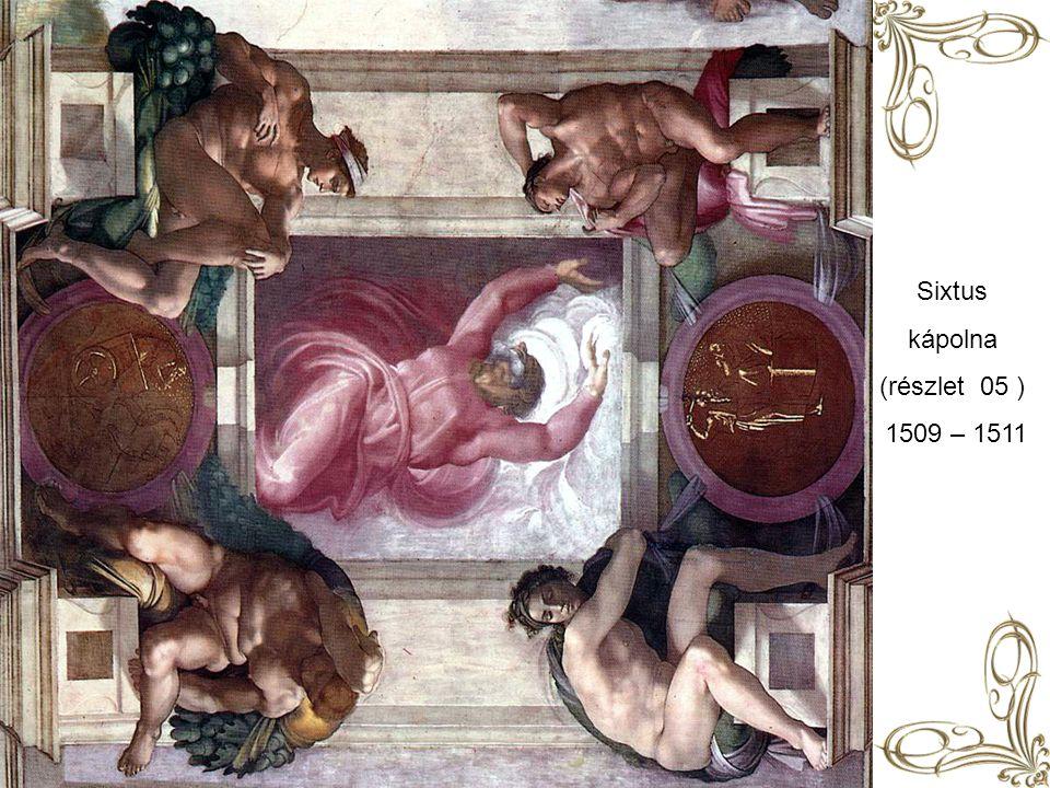 Sixtus kápolna (részlet 05 ) 1509 – 1511