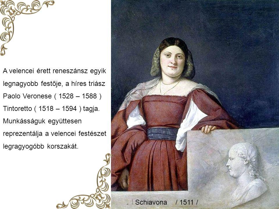 A velencei érett reneszánsz egyik