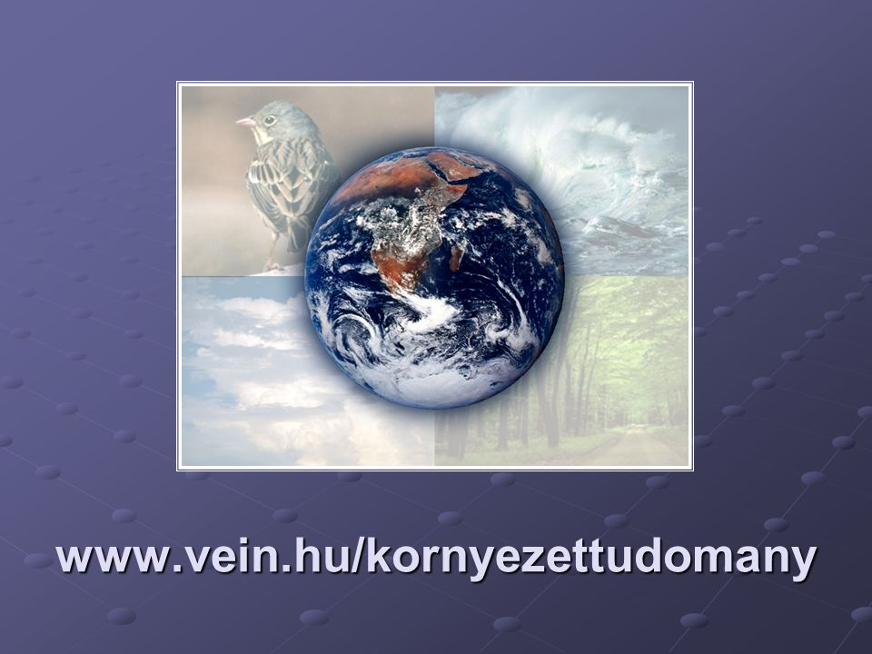 www.vein.hu/kornyezettudomany