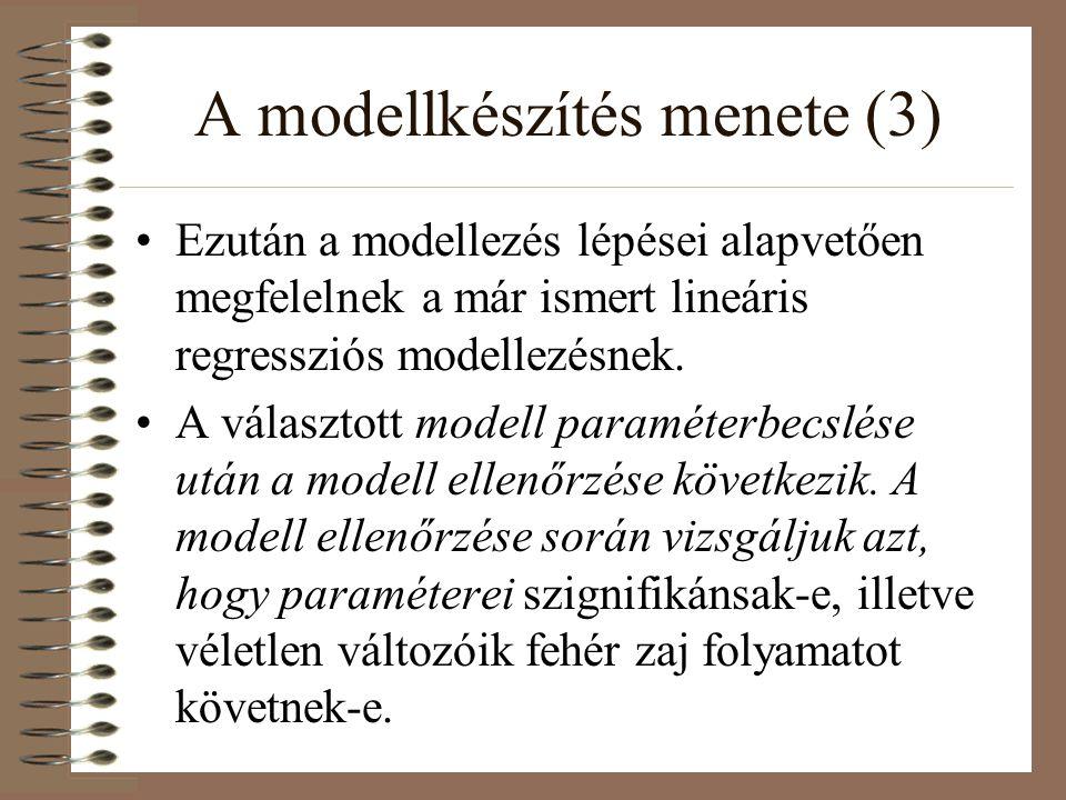 A modellkészítés menete (3)