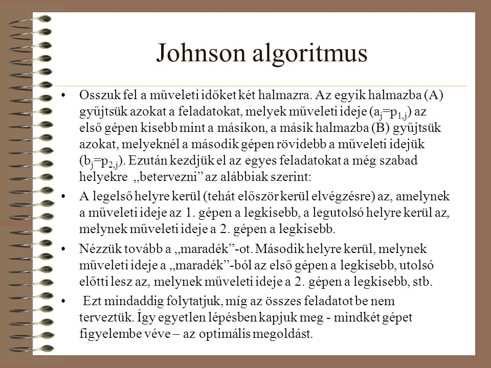 Johnson algoritmus
