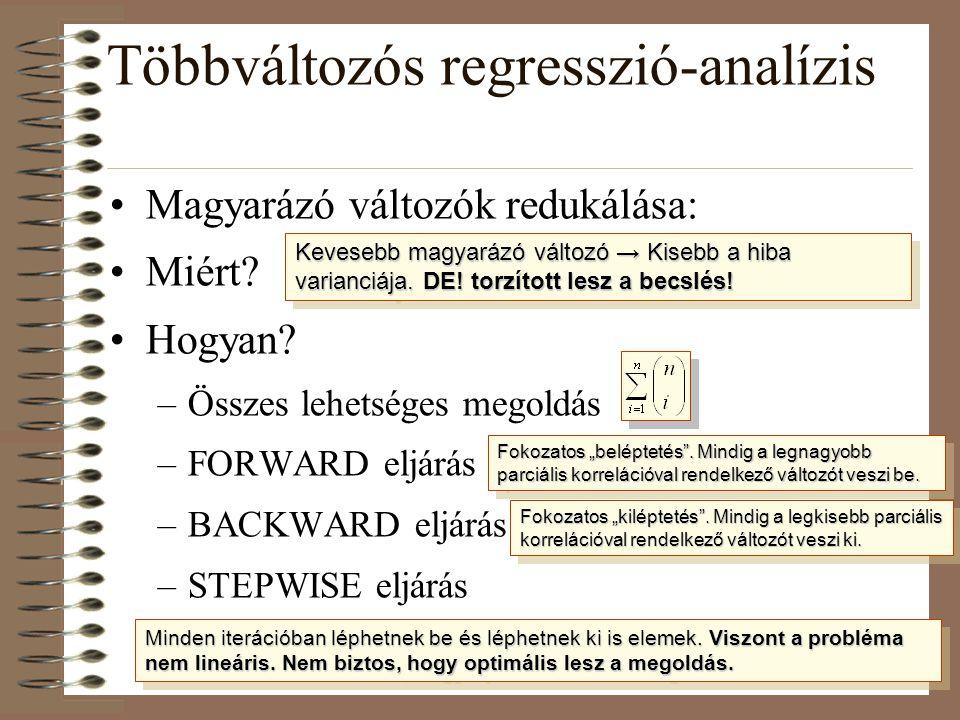 Többváltozós regresszió-analízis
