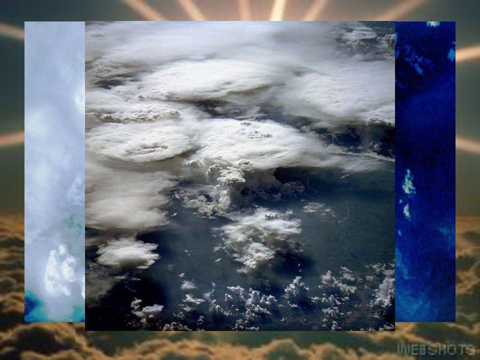 A Föld légköre A felhőzet és csapadék