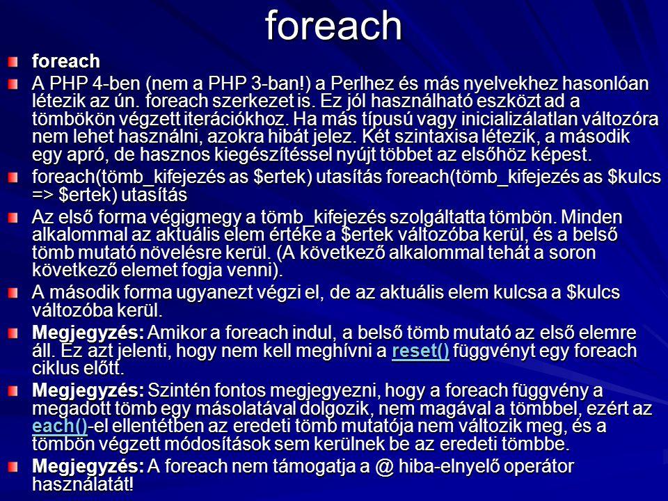 foreach foreach.