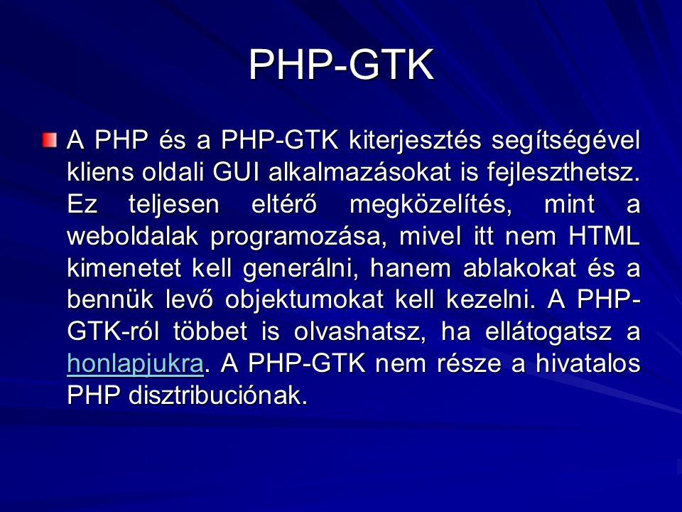 PHP-GTK
