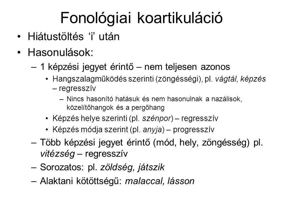 Fonológiai koartikuláció