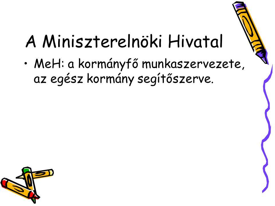 A Miniszterelnöki Hivatal