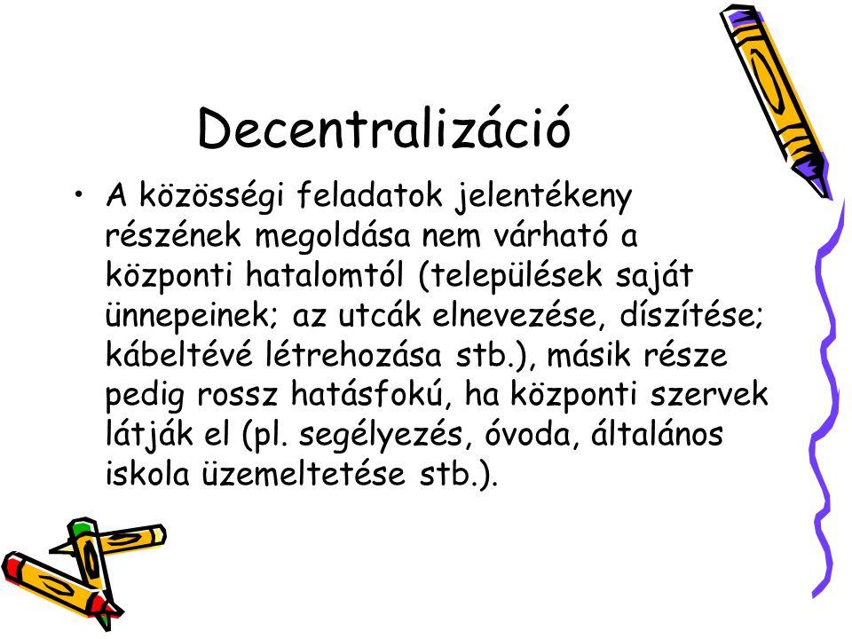 Decentralizáció