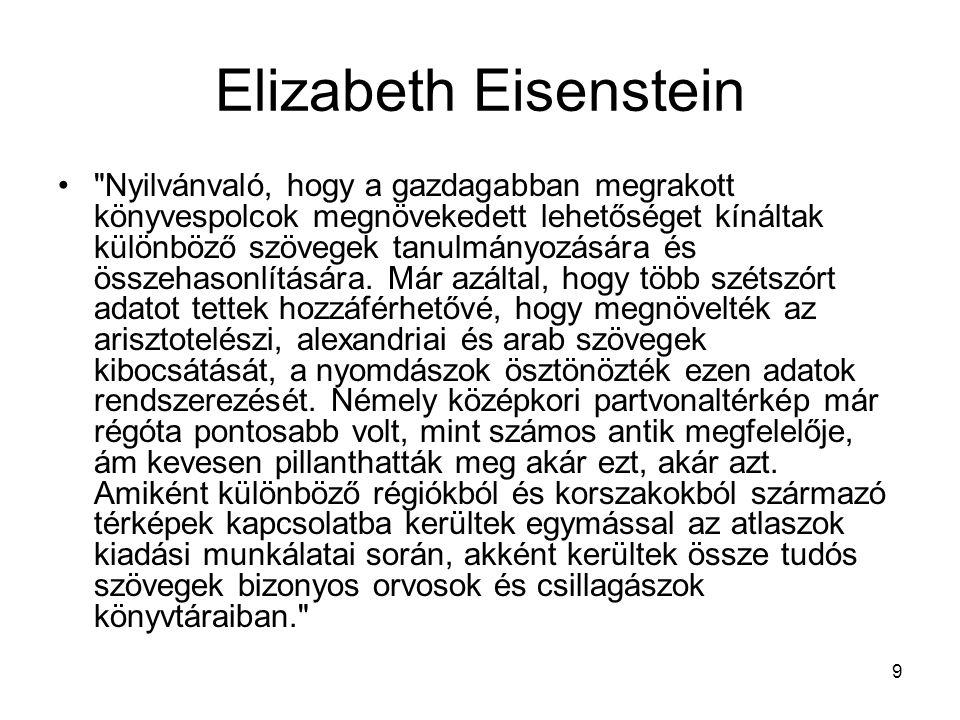 Elizabeth Eisenstein