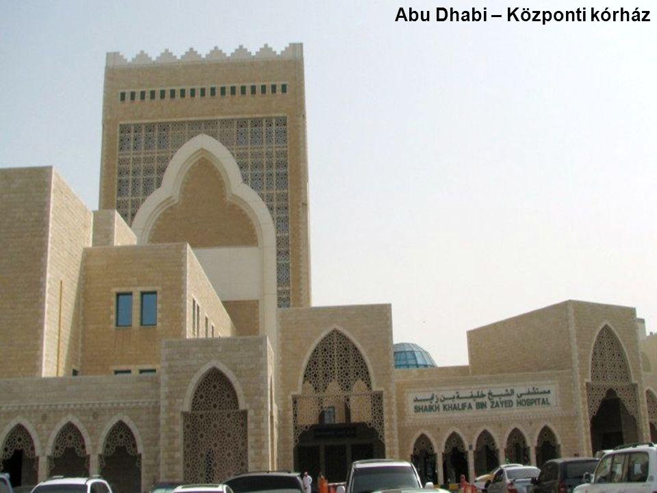 Abu Dhabi – Központi kórház