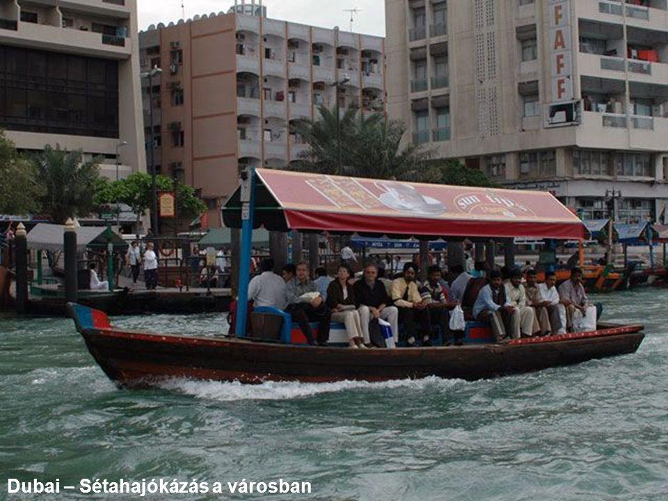 Dubai – Sétahajókázás a városban