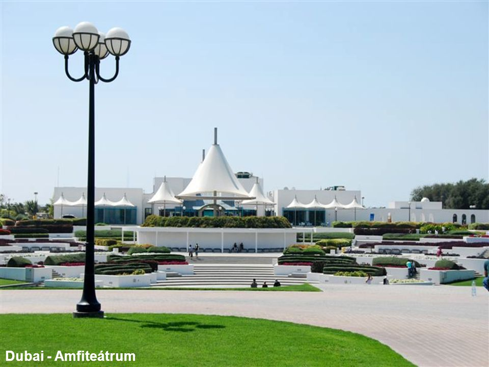 Dubai - Amfiteátrum