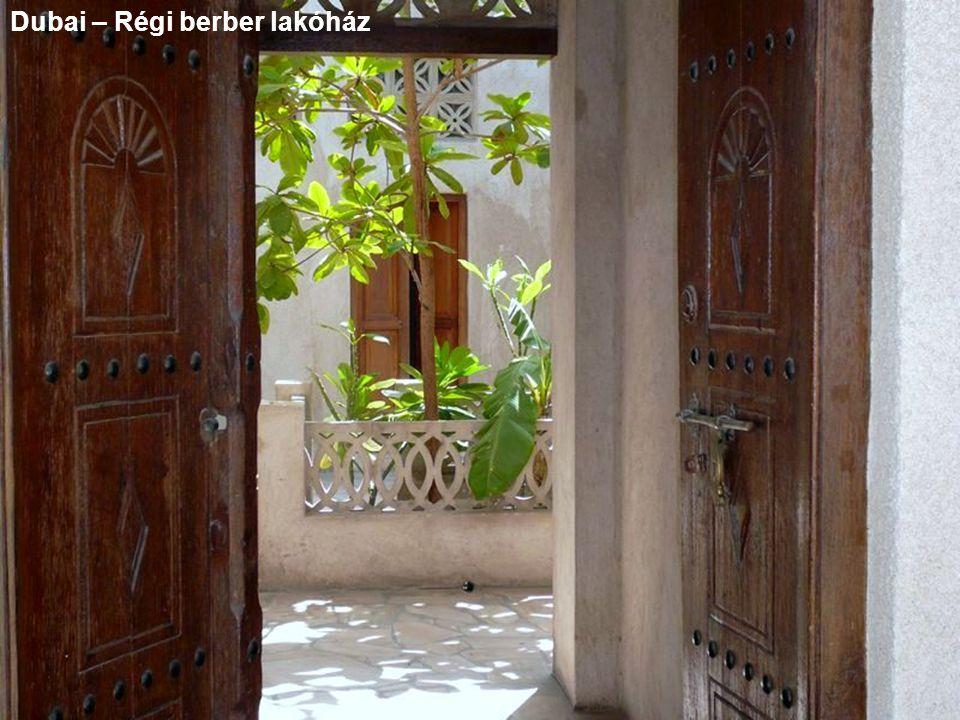 Dubai – Régi berber lakóház