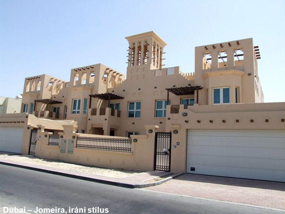 Dubai – Jomeira, iráni stílus