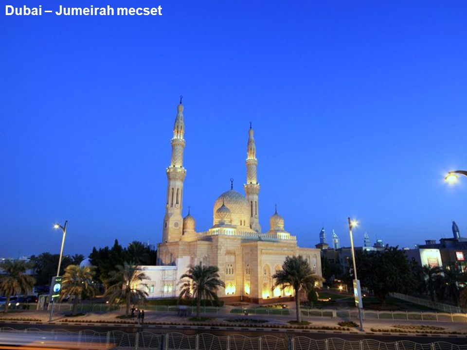 Dubai – Jumeirah mecset