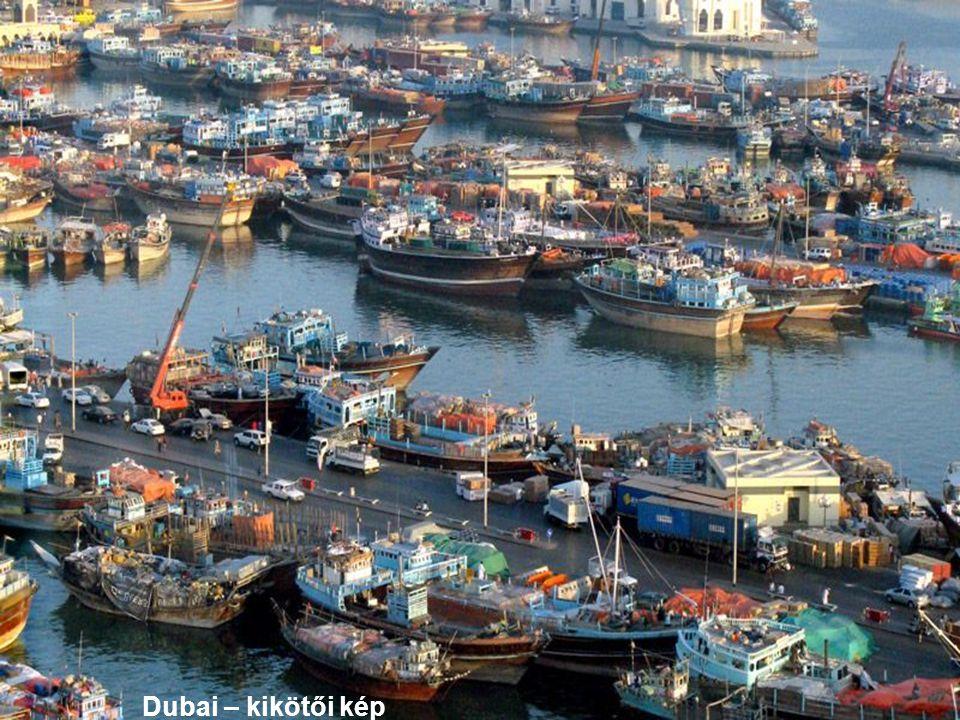 Dubai – kikötői kép