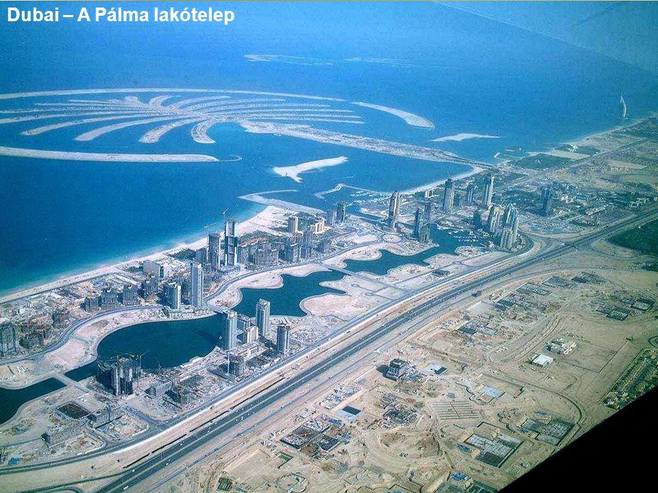 Dubai – A Pálma lakótelep