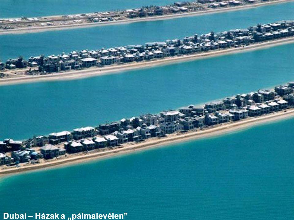 """Dubai – Házak a """"pálmalevélen"""