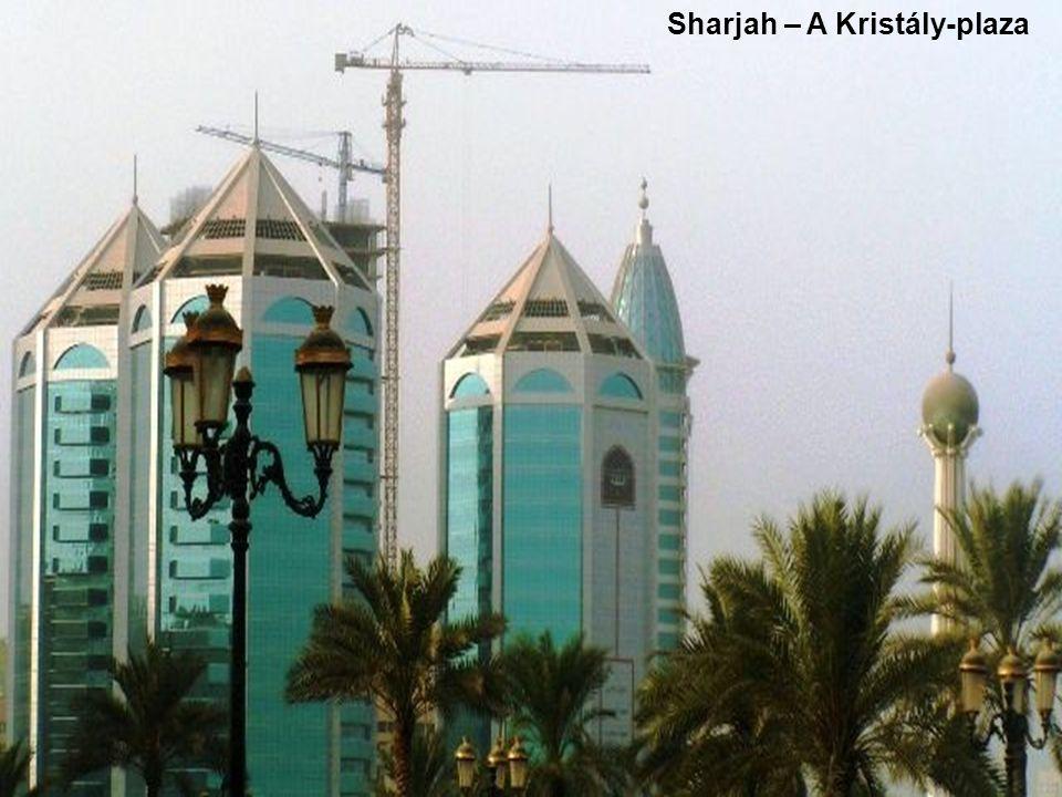 Sharjah – A Kristály-plaza