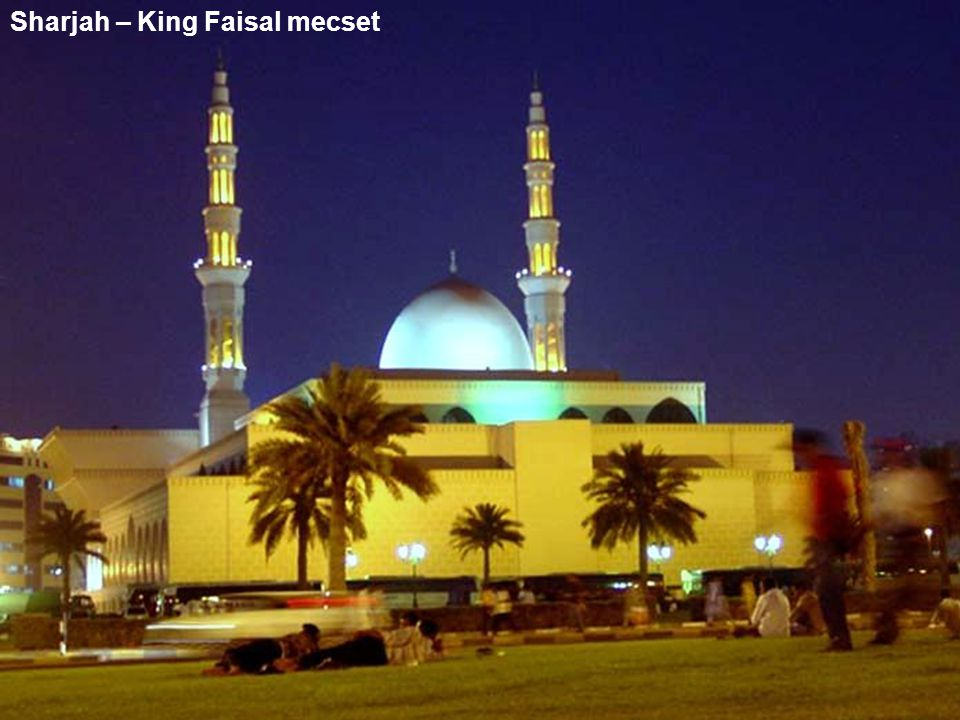 Sharjah – King Faisal mecset