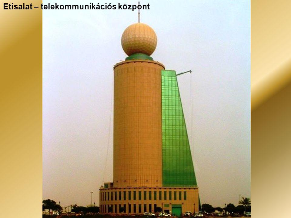 Etisalat – telekommunikációs központ