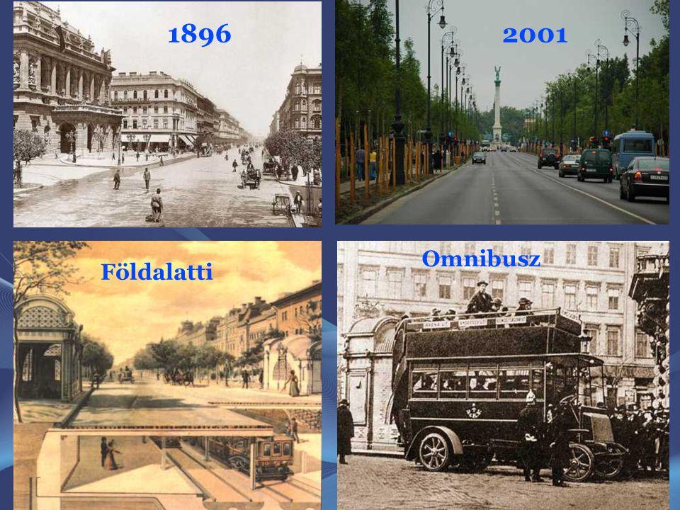1896 2001 Omnibusz Földalatti