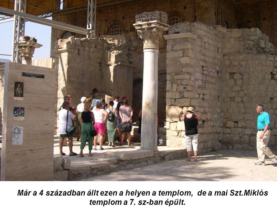 Már a 4 században állt ezen a helyen a templom, de a mai Szt