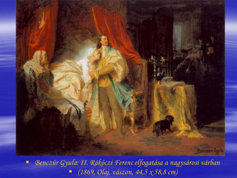 Benczúr Gyula: II. Rákóczi Ferenc elfogatása a nagysárosi várban