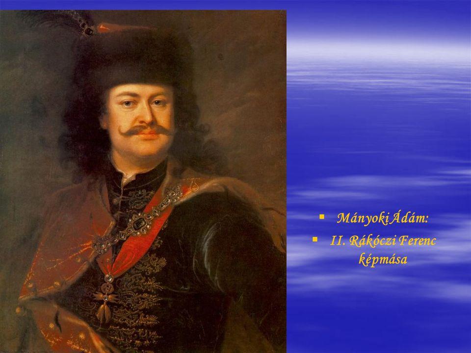 II. Rákóczi Ferenc képmása