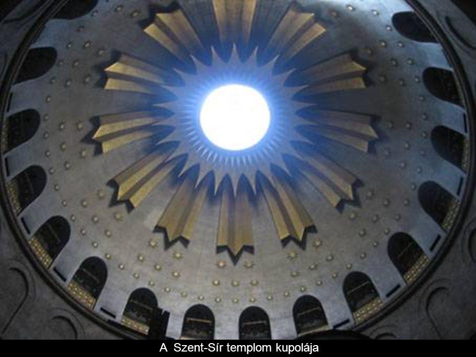 A Szent-Sír templom kupolája