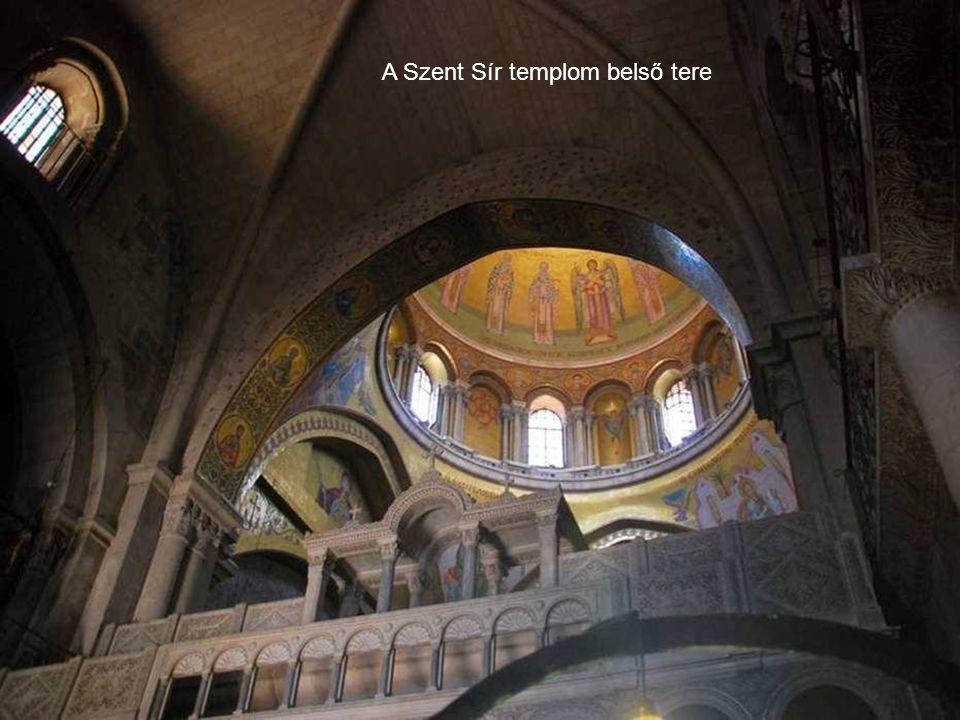 A Szent Sír templom belső tere