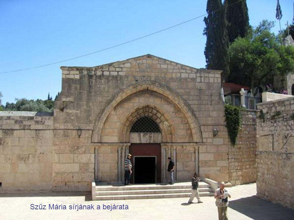 Szűz Mária sírjának a bejárata