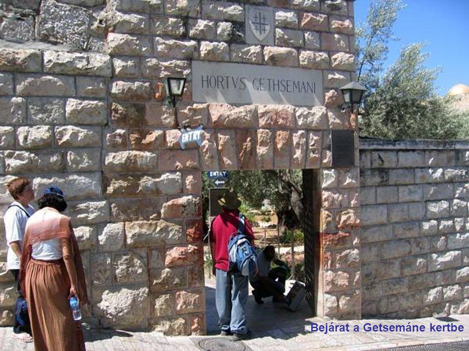 Bejárat a Getsemáne kertbe