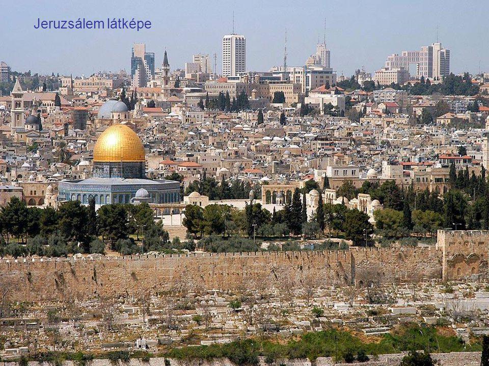 Jeruzsálem látképe