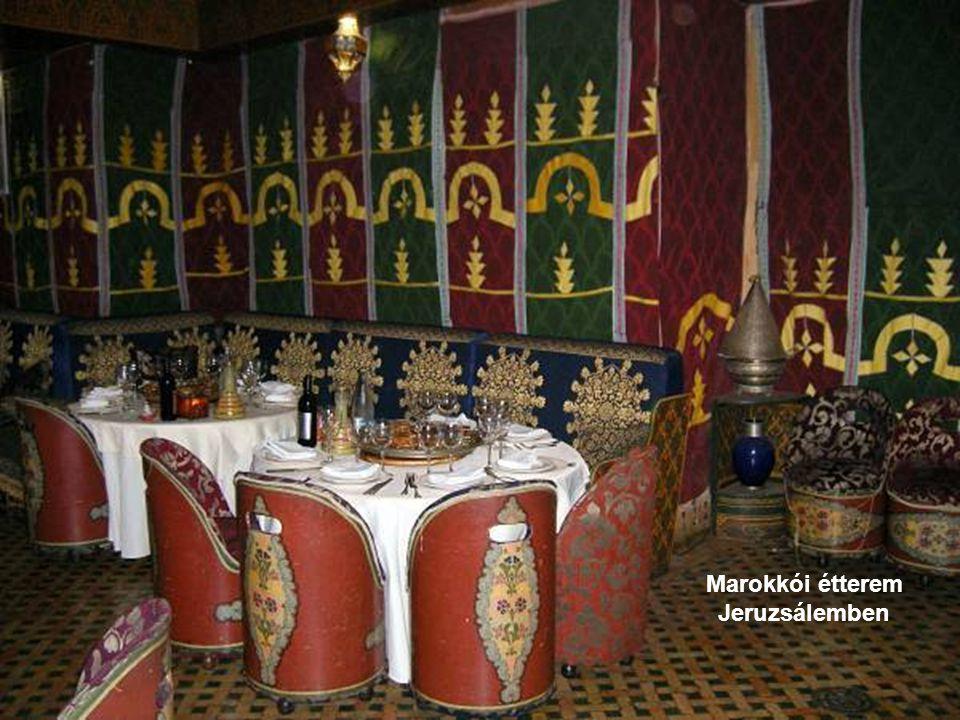 Marokkói étterem Jeruzsálemben