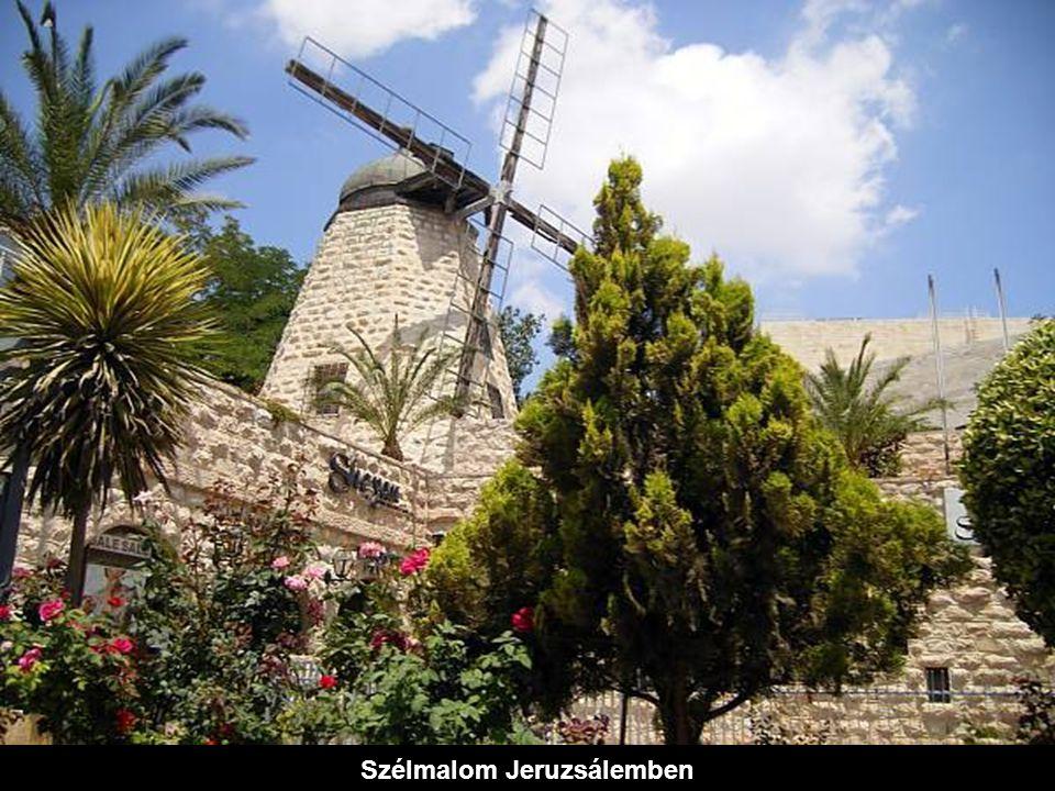 Szélmalom Jeruzsálemben