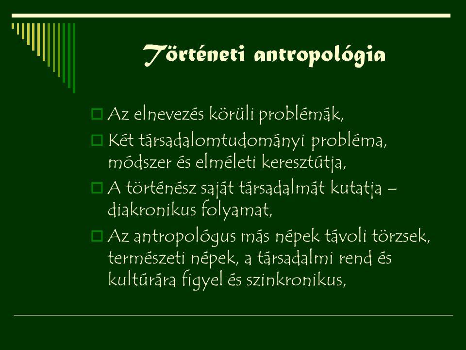 Történeti antropológia