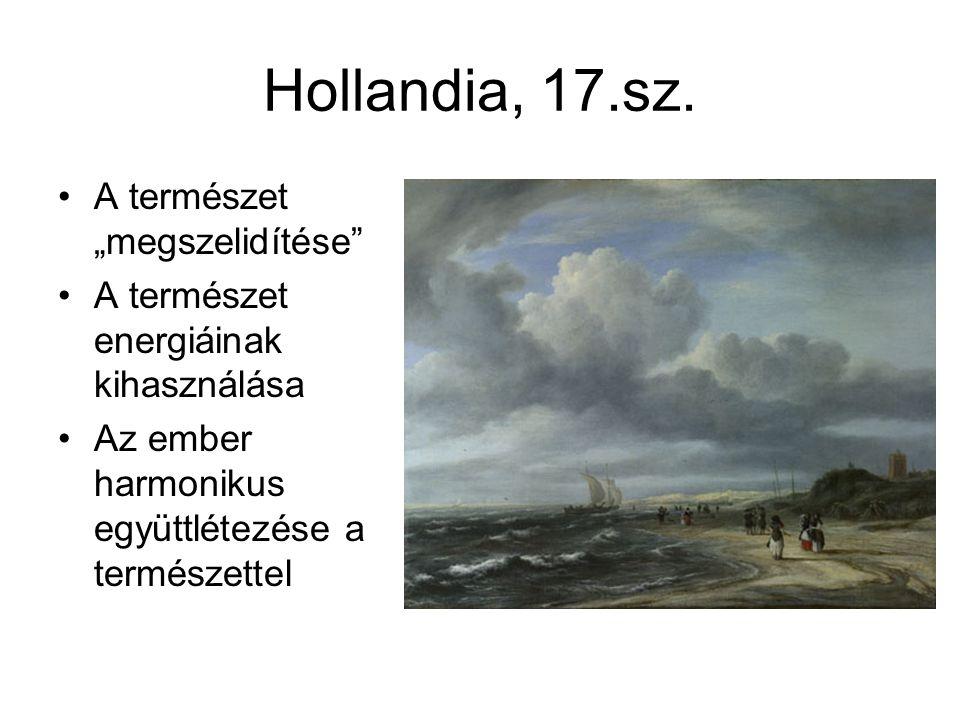 """Hollandia, 17.sz. A természet """"megszelidítése"""
