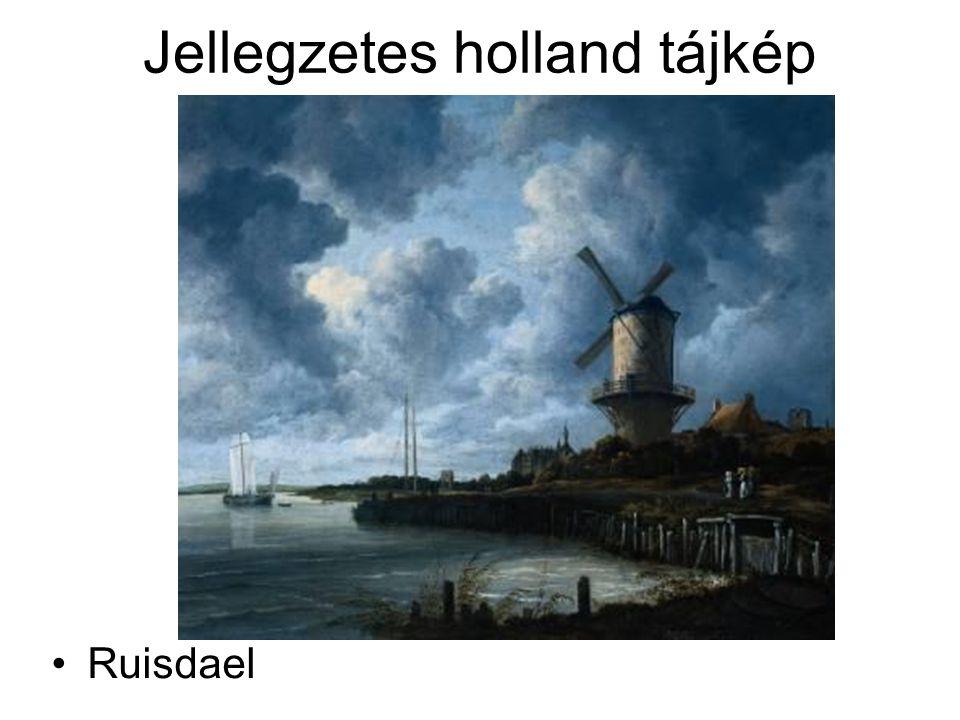 Jellegzetes holland tájkép