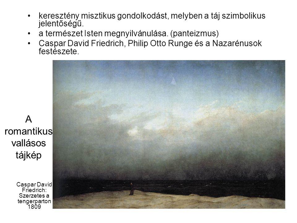 Caspar David Friedrich: Szerzetes a tengerparton 1809
