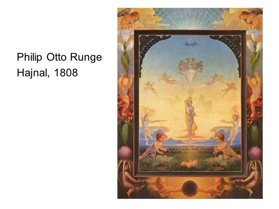 Philip Otto Runge Hajnal, 1808