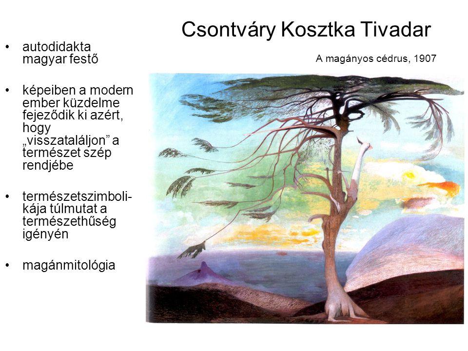 Csontváry Kosztka Tivadar A magányos cédrus, 1907