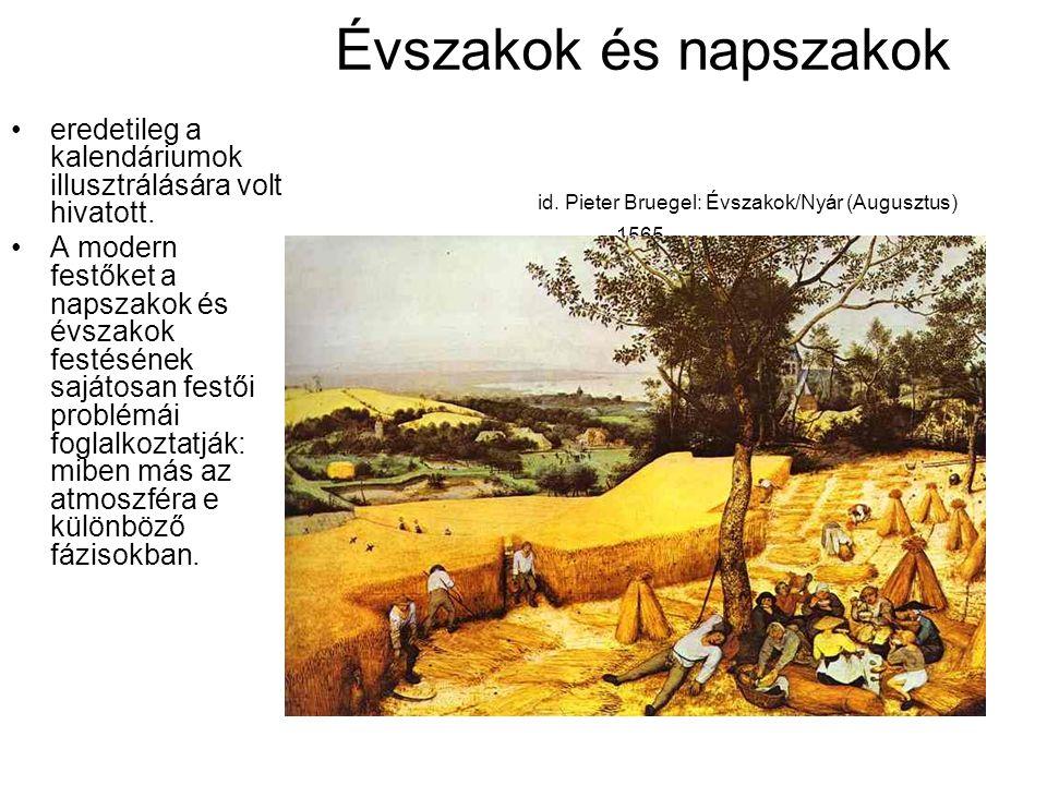 Évszakok és napszakok. id
