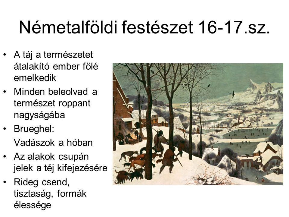 Németalföldi festészet 16-17.sz.