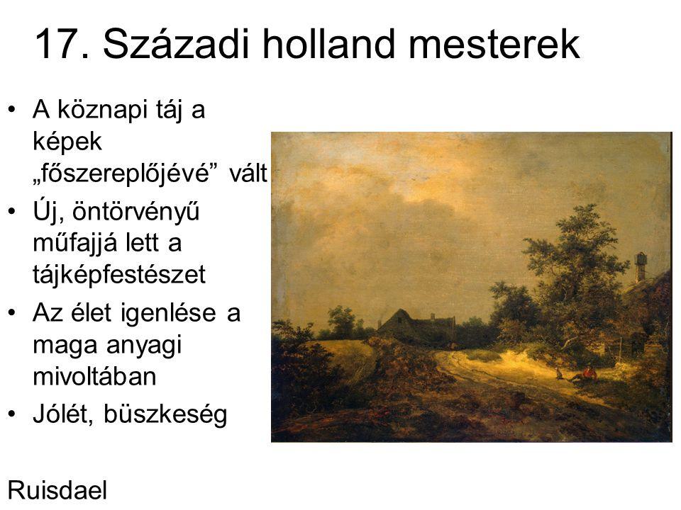 17. Századi holland mesterek